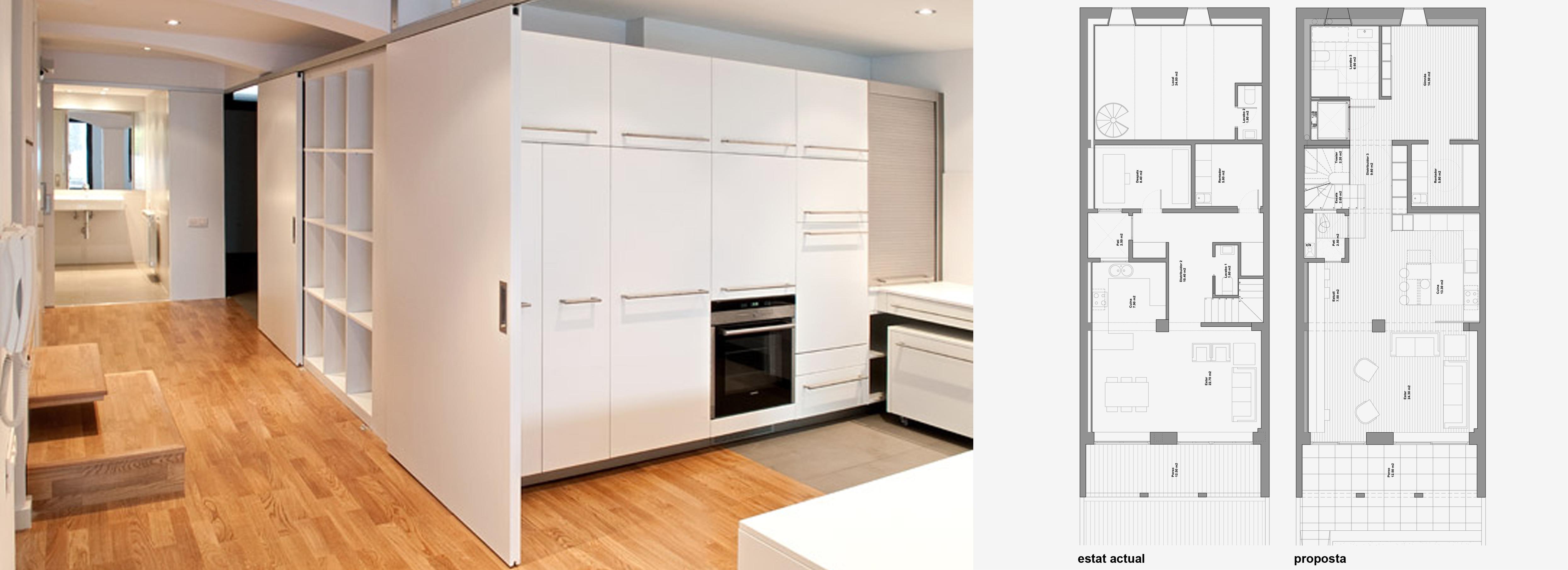 Reformar piso antiguo affordable reforma de una vivienda - Sillas antiguas baratas ...